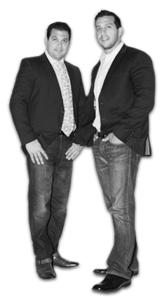 Brothers and Owners of MMEink, Michael & Joseph Tardi