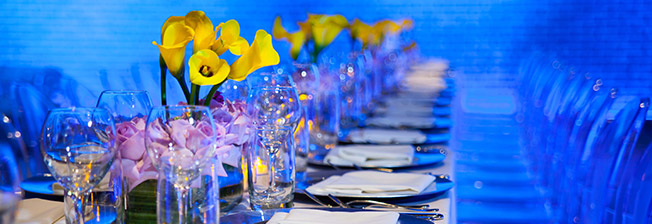 Professional event design planners and custom floral designs for Miami event