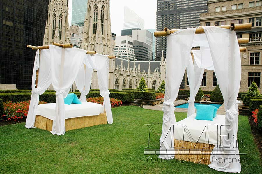 ... Outdoor furniture party rentals for rooftop event in miami florida ... - Florida Event Rentals, Event Decor, Props And Games MMEink Miami